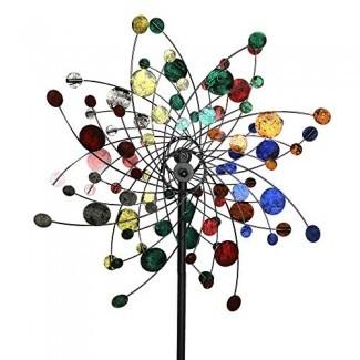MJ Spinner diseña un jardín de viento cinético estilo confeti Spinner