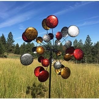 Spinner de escultura de viento cinético cuádruple de arte moderno Jumbo ...