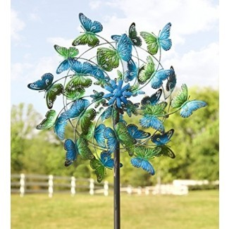 Esculturas cinéticas del viento - ... bailan con el viento