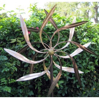 Stanwood Wind Spinners Escultura Kinetic Copper Garden ...