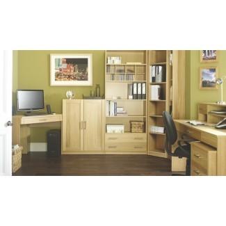 Muebles de oficina modulares contemporáneos de roble - Contemporáneo ...