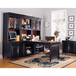 Muebles de oficina modulares personalizados de madera clásicos # 8714 ...