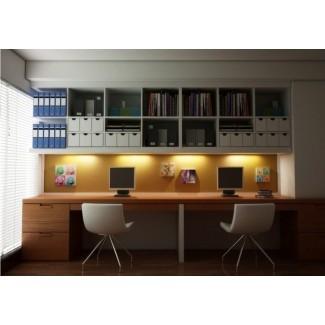 Muebles de oficina modulares razonables para el hogar Material moderno ...
