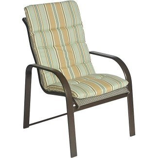 Cojines de silla de patio con respaldo alto