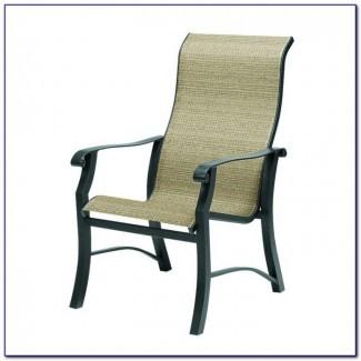 Cojines de silla de patio con respaldo alto - Patios: decoración del hogar