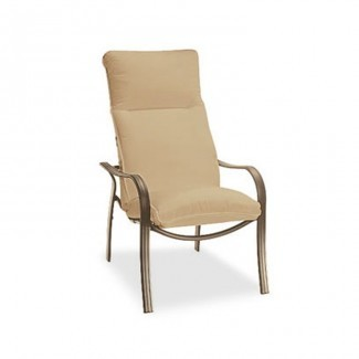Patio Cojines para muebles Imagen de la silla con respaldo alto ...