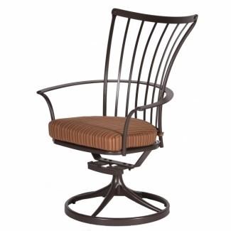 Sillas de patio basculantes giratorias con respaldo alto 2019   Diseño de silla
