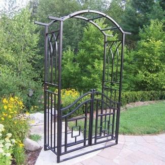Royal Steel Arbor con portón