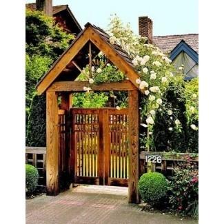 5 maneras económicas de hacer que la puerta de su jardín sea simplemente ...
