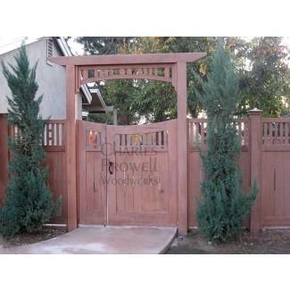 Enrejado de jardín de jardín de Prowell Woodworks # 5