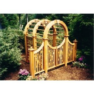 Driveway Gate y Garden Arbor News de New England Woodworks