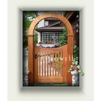 Lote Wood: Arbor de jardín con planos de puerta