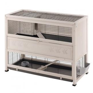 Jaula interior grande para cabaña - Jaulas de conejo interiores