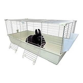 Heritage Rabbit Cage Beige 120 Cm Extra Large Indoor Bunny