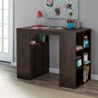 Mainstays Mesa para manualidades y escritorio de almacenamiento de 12 cubos ...