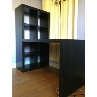 Espacio de trabajo: Cool Home Office con Ikea Expedit Desk para ...
