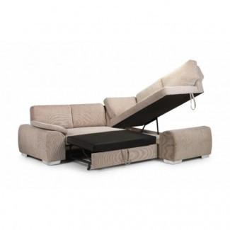 Sofá composable con cama extraíble | Interior de la casa nueva