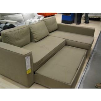 Sala de estar: sofá seccional fresco con cama extraíble para