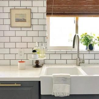 Cocina: interesante diseño de fregadero de cocina con tapa fría ...