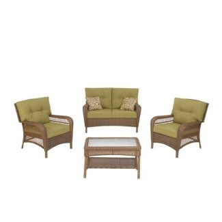 Imagen de muebles de patio de mimbre para exteriores Martha Stewart ...