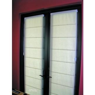 cortinas romanas para puertas 2017 - Papel pintado de tela
