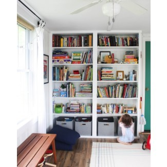 Construye tu propio estante del piso al techo de la sala de juegos - Descubre