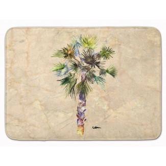 Alfombra de baño con espuma viscoelástica Bellamira Palm Tree