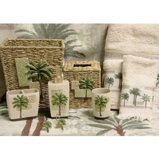 """Amazon.com: Bacova Guild Citrus Palm, baño de 20 """"x 33"""""""