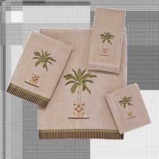 Juego de toallas de lino y palma de plátano | Avanti Linens