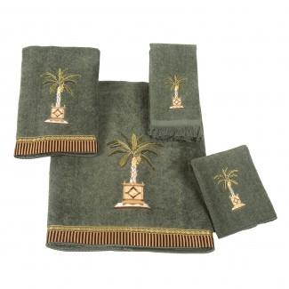Juego de toallas de 4 piezas Avanti Linens Banana Palm y comentarios