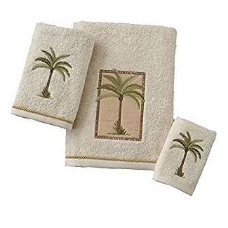 "Amazon.com: ""West Palm Trees"" - Conjunto de baño - Toalla"