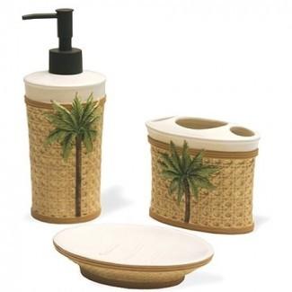 Better Homes and Gardens Palm - Baño de 3 piezas Juego de accesorios ...