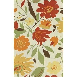 Blooms Mantel de tela laminada 70 pulgadas Asientos redondos 4 a 6 personas