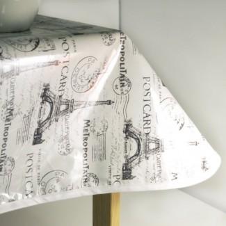 Mantel de tela oleosa Algodón laminado con compelledtocraft ...