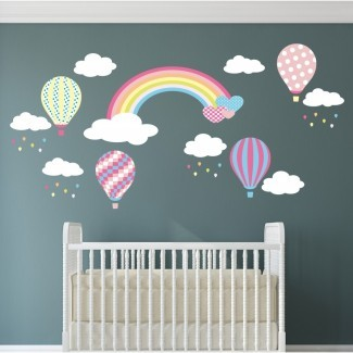 ¿Cuál es la mejor decoración de pared de guardería para ambos niños