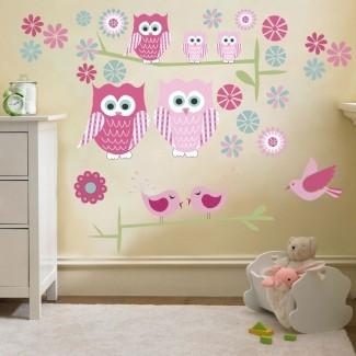 Juegos de pegatinas de habitación para niños con decoración de pared para niños ...