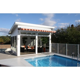 Three Season Cabana - Deluxe Screen Cabana - Pool House