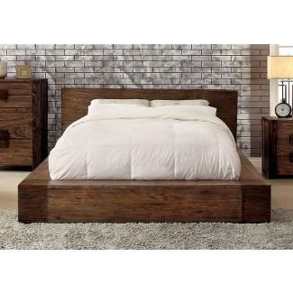 Dormitorio de Janeiro Modern Bold Low Profile Estructura de cama Queen ...