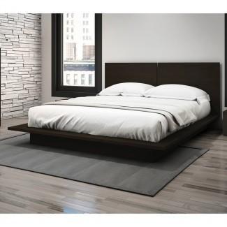 Dormitorio: Cabecera de perfil bajo para un diseño elegante de su cama ...