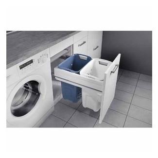 Cesto de ropa extraíble Hafele - Tinas de lavandería   Mitre 10 ™