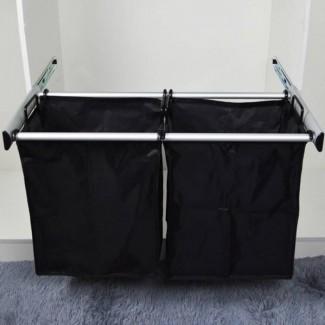 Cesto de ropa, accesorios de vestuario   Bolsa y cesto para la ropa ...