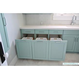 Ideas: ideas inspiradoras de almacenamiento en la lavandería con ropa sucia ...