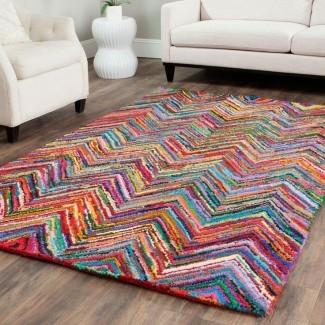 50 alfombras de área más dramáticas, hermosas y coloridas para ...