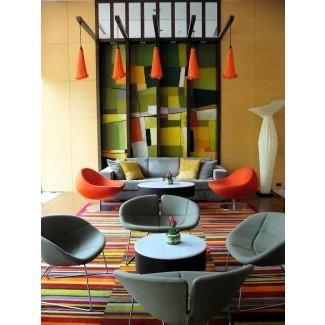 39 Diseños de sala de estar brillantes y coloridos | Interior God