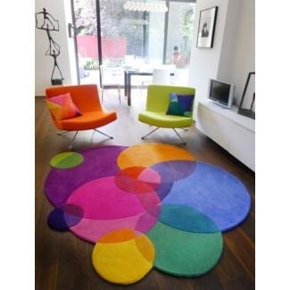 Alfombras coloridas - Alfombras únicas para la sala de estar