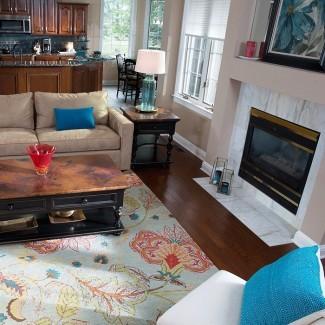 Cómo elegir una alfombra de área
