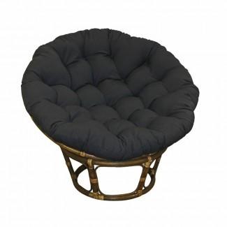 Cojín de silla de salón para interiores Papasan