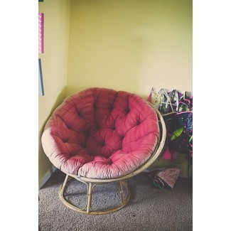 Funda de cojín para silla DIY Papasan | Budget Friendly