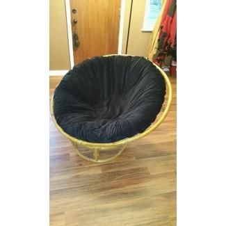 Cómo hacer una funda para tu cojín de silla Papasan