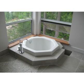 Tina de baño de estilo japonés: dale un toque asiático a tu ...